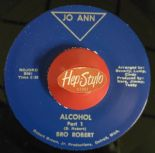 "45Re ✦ BRO ROBERT ✦ ""Alcohol Part 1 & 2""  - Late 60s Funk Pounder - Hear♫"
